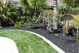 Black Mulch Picked Up