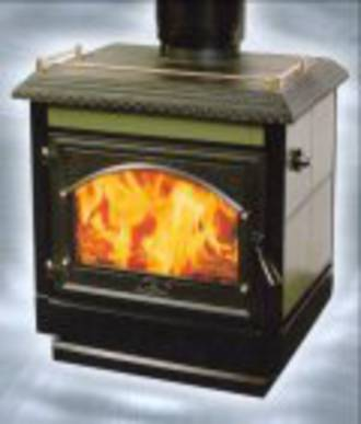Firenzo Bronte AG F/S Woodburner 18kw Ped Base