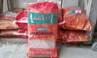 Hardwood (bag) - Picked up