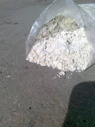 White Sand - Bag Picked up