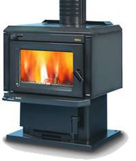 Yunca 'Blenz' Multifuel Woodburner 18-22kW