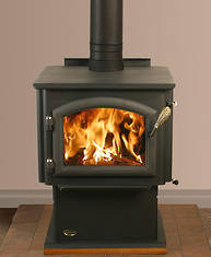 Quadra-Fire 2100- Up to 14 hours of burn time