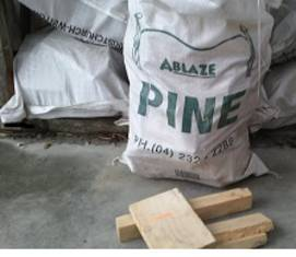 Kiln Dried Pine (Bag) Picked up